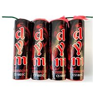 Fireworks - red smokestack with lighter 4 pcs - Fireworks