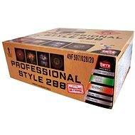 Fireworks - professional compound fireworks professional style 288 rounds - Fireworks