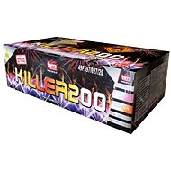 Professional compound fireworks killer 200 rounds - Fireworks