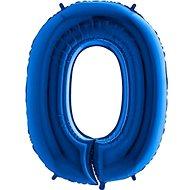 Balón foliový číslice modrá -  110 cm - 0 - Balonky