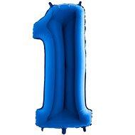 Balón foliový číslice modrá -  110 cm - 1 - Balonky