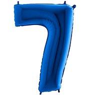 Balón foliový číslice modrá -  110 cm - 7 - Balonky