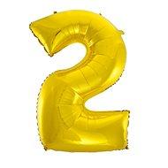 Balón foliový číslice zlatá -  110 cm - 2 - Balonky