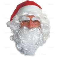 Paruka mikuláše - santa claus - vánoce - Paruka