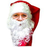 Vousy mikuláše - santa claus - vánoce - Doplněk ke kostýmu