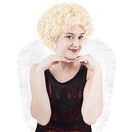 Paruka anděl krátká - vánoce - Doplněk ke kostýmu