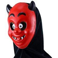 Maska čert s šátkem - vánoce - Doplněk ke kostýmu