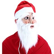 Santa Claus mask with beard and hat - Christmas