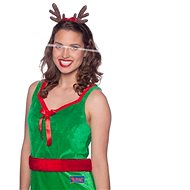 Reindeer headband with ribbon - Christmas - Costume Accessory