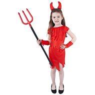 Karnevalový kostým čertice vel. S - Dětský kostým