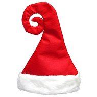 Čepice Santa Claus zakroucená - Vánoce - Doplněk ke kostýmu