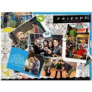 Puzzle - Přátelé - 1000 ks - Scrapbook - Puzzle