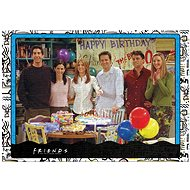 Puzzle - Přátelé - 1000 ks - Happy Birthday - Puzzle