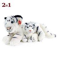 Rappa Eco-friendly white tiger with cub 38 cm