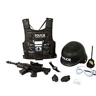 Rappa police vest with accessories - Costume Accessory