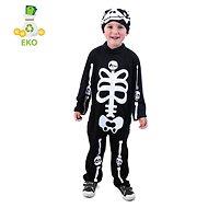 Rappa dětský kostým kostlivec s čepicí (M) - Dětský kostým