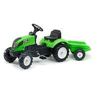 Traktor Garden Master s valníkem zelený