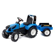 Landini Serie 7 pedal tractor with flatbed