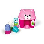 Clementoni Clemmy baby - kyblík s kostkami kočička - Hračka pro nejmenší
