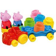 Clementoni Clemmy baby - Peppa Pig - vláček s kostkami - Hračka pro nejmenší