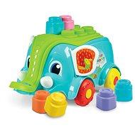 Clementoni Clemmy baby - Vozík slon s kostkami - Hračka pro nejmenší