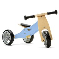 Nicko - Wooden bouncer 2in1 mini - blue
