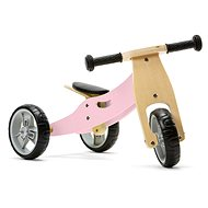 Nicko - Wooden bouncer 2in1 mini - pink