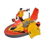 Simba Požárník Sam Vodní skútr Juno s figurkou - Loď