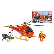 Simba Fireman Sam Rescue Helicopter with Figurine - Remote Control Helicopter