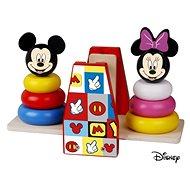 Dřevěná hračka Derrson Disney Dřevěná balanční hra Mickey a Minnie