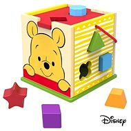 Derrson Disney Wooden cube with Winnie the Pooh shapes