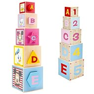 Derrson Disney Wooden motor tower made of Mickey cubes