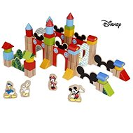 Derrson Disney Wooden Large Cubes of 60 Mickey Castle