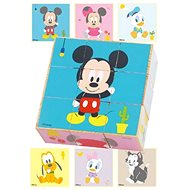 Derrson Disney Wooden Picture Cubes