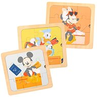 Derrson Disney Dřevěné puzzle 3v1
