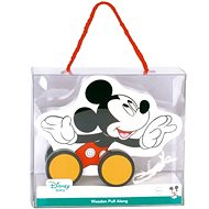 Derrson Disney Wooden Pull Mickey Mouse