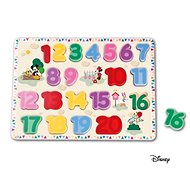 Derrson Disney Large wooden number puzzle by Mickey
