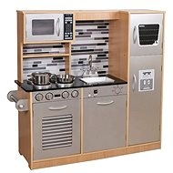 Derrson XXL Dřevěná kuchyňka Modern natural  - Kuchyňka