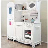 Derrson XXL White wooden kitchen with accessories