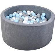 iMex 2839 Suchý bazén s míčky šedý - Stan