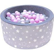iMex 2808 Suchý bazén s míčky hvězdy - Stan