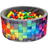 iMex 2631 Suchý bazén s míčky barevný - Stan