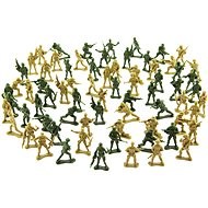 Figurky Teddies Sada vojáci 2 barvy CZ design