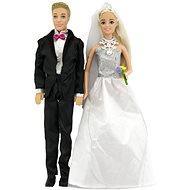 Panenka Anlily kloubová 2ks nevěsta a ženich