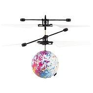 Teddies Vrtulníková koule létající, reagující na pohyb ruky s USB kab.
