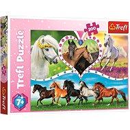 Trefl Puzzle Koně 200 dílků - Puzzle