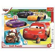 Trefl Puzzle deskové Auta 3/Cars 3/Dobrý tým 25 dílků - Puzzle