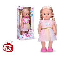 Wiky Eliška chodící panenka růžová