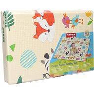 Pěnové puzzle Wiky Skládací pěnová podložka zvířátka 120x90 cm - Pěnové puzzle