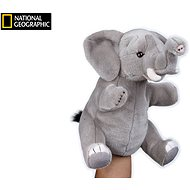 National Geographic puppet Elephant 26 cm